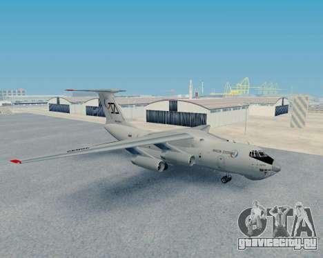 Ил-76ТД Авиакон Цитотранс для GTA San Andreas вид слева