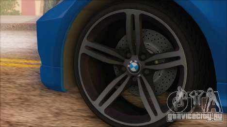 BMW 330i для GTA San Andreas вид справа