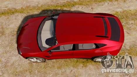 Lamborghini Urus LP840 2015 для GTA 4 вид справа