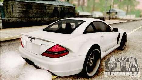 Mercedes-Benz SL65 AMG BS 2009 для GTA San Andreas вид слева