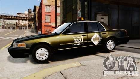 Ford Crown Victoria Cab для GTA 4 вид слева