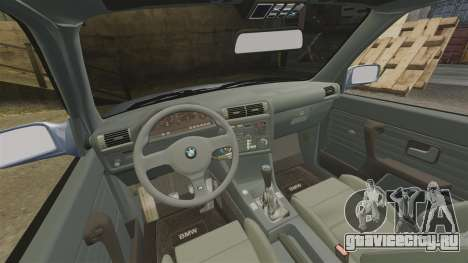 BMW M3 E30 для GTA 4 вид сзади