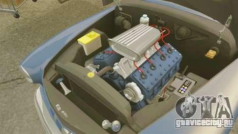 Mercury Lead Sled Custom 1949 для GTA 4 вид изнутри