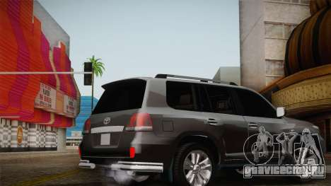 Toyota Land Cruiser 200 для GTA San Andreas колёса