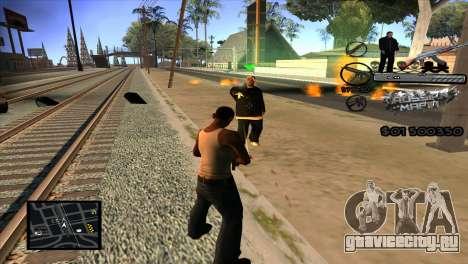 C-HUD Russian Mafia by Luigie для GTA San Andreas третий скриншот
