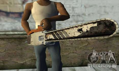 Бензопила из L4D2 для GTA San Andreas третий скриншот