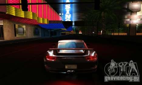 ENBSeries Exflection для GTA San Andreas девятый скриншот
