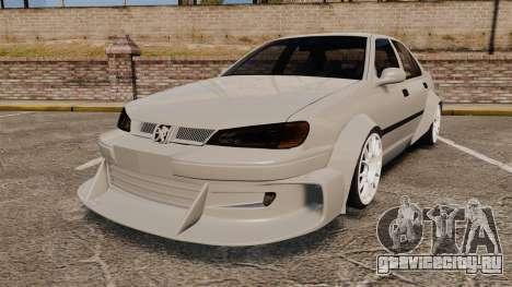 Peugeot 406 v2.0 для GTA 4