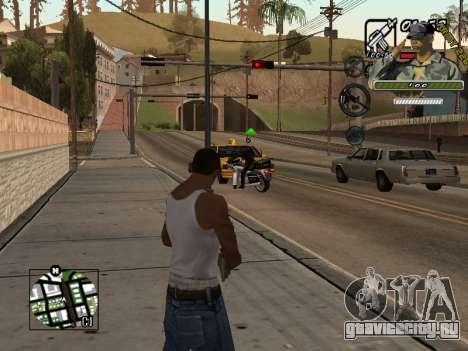 C-Hud Army by Enrique Rueda для GTA San Andreas второй скриншот