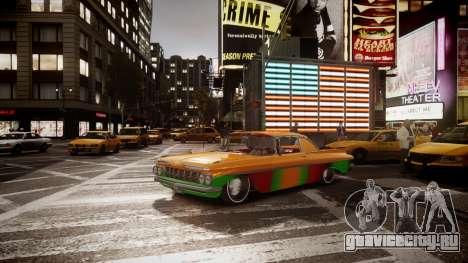 Chevrolet Impala для GTA 4 вид сзади слева