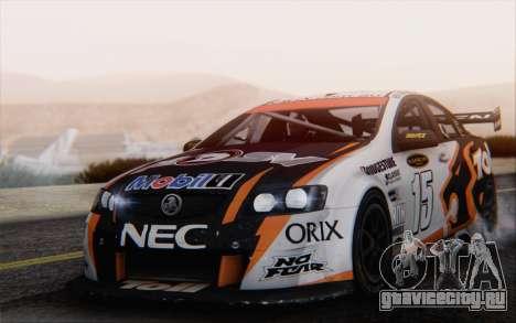 Holden Commodore для GTA San Andreas вид сбоку