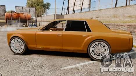 Super Diamond VIP для GTA 4 вид слева