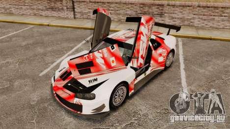 Nissan Skyline R34 для GTA 4 вид сбоку