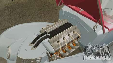 Ford Roadster 1936 Chip Foose 2006 для GTA 4 вид сзади
