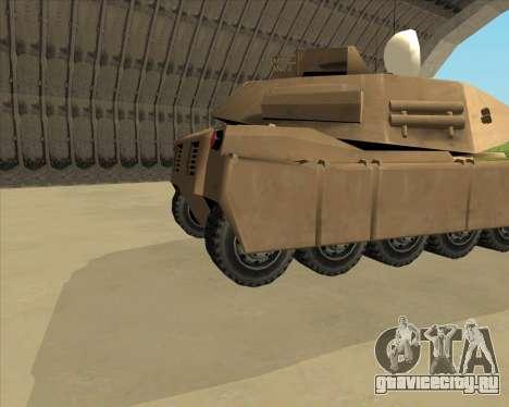 Rhino Mark.VI для GTA San Andreas вид сзади слева