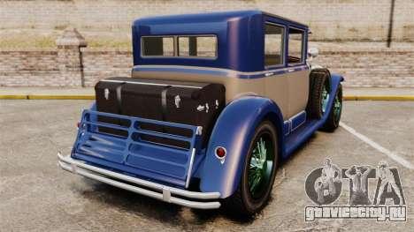GTA V Albany Roosevelt для GTA 4 вид сзади слева