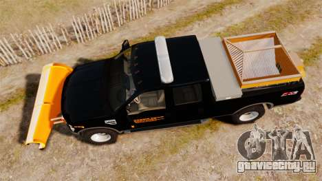 Ford F-250 Super Duty ESSL [ELS] для GTA 4 вид справа
