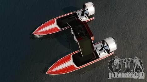 Катамаран -Jetmax Aero- для GTA 4 вид справа