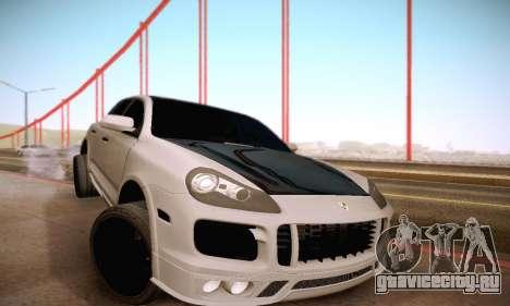 Porsche Cayenne для GTA San Andreas вид сверху