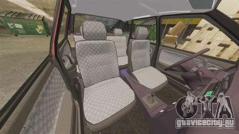 ВАЗ-2114 Самара-2 для GTA 4 вид снизу