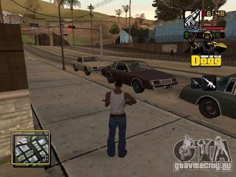 C-HUD Snoop Dogg для GTA San Andreas второй скриншот