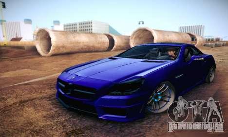 Mercedes Benz SLK55 AMG 2011 для GTA San Andreas