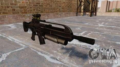Автоматическая винтовка SCAR для GTA 4