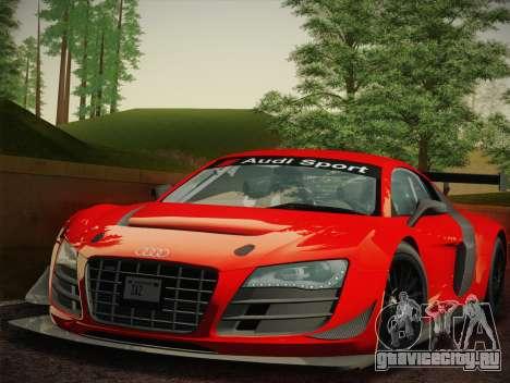 Audi R8 LMS Ultra W-Racing Team Vinyls для GTA San Andreas