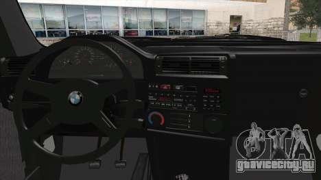 BMW M5 E30 для GTA San Andreas вид сзади слева