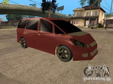 Toyota Estima 2wd для GTA San Andreas