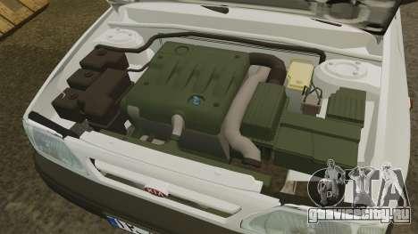 Kia Pride 131 EX для GTA 4 вид изнутри