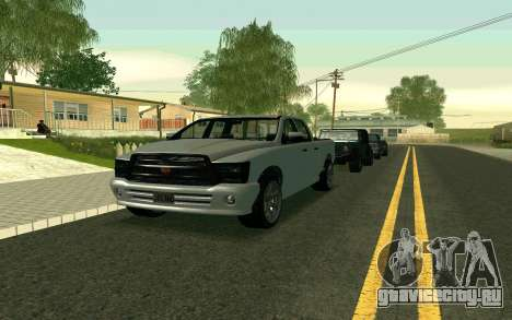 GTA V Bison Version 2 FIXED для GTA San Andreas вид слева