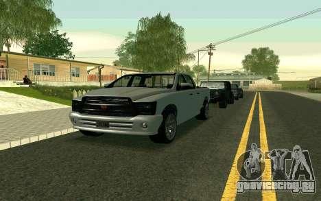 GTA V Bison Version 2 FIXED для GTA San Andreas вид слева