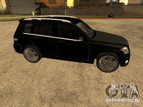 Mercedes-Benz GLK для GTA San Andreas вид слева