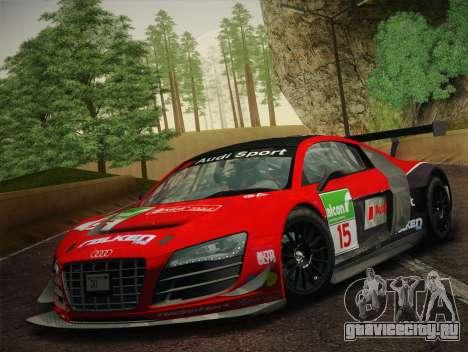 Audi R8 LMS Ultra Old Vinyls для GTA San Andreas двигатель