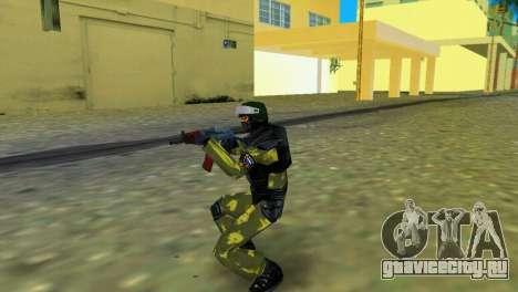 Боец Спецназа для GTA Vice City второй скриншот