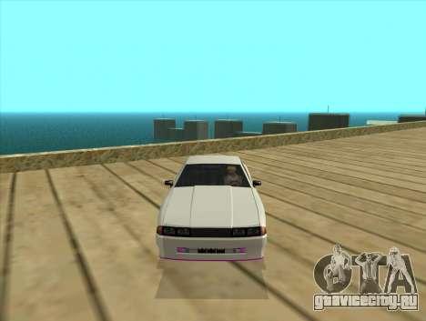 Elegy by MegaPixel для GTA San Andreas вид слева