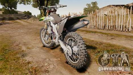 Kawasaki KX250F Monster Energy для GTA 4