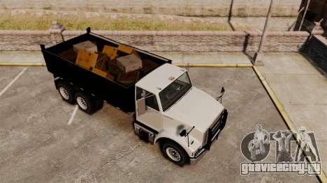Benson Heavy для GTA 4 вид изнутри