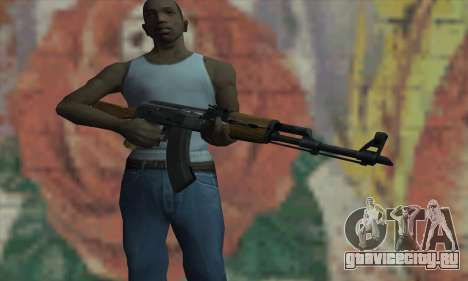 AK47 из L4D для GTA San Andreas третий скриншот