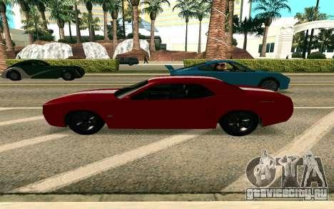 GTA V Gauntlet для GTA San Andreas вид слева