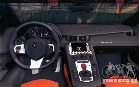 Lamborghini Aventador LP 700-4 для GTA San Andreas вид справа