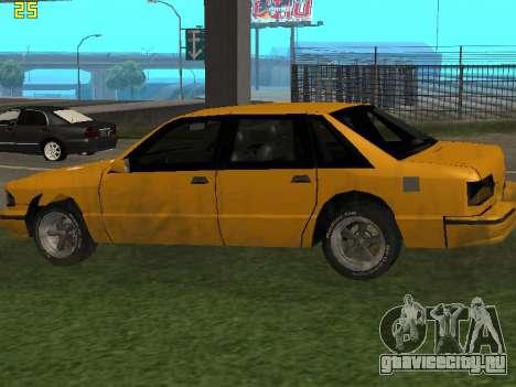 Premier 2012 для GTA San Andreas вид справа