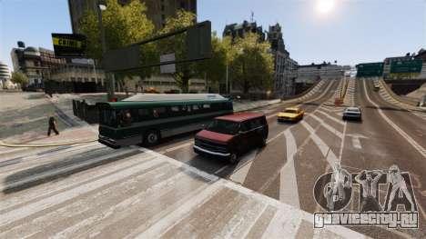 Реальный трафик для GTA 4 третий скриншот