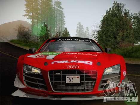 Audi R8 LMS Ultra Old Vinyls для GTA San Andreas вид сверху