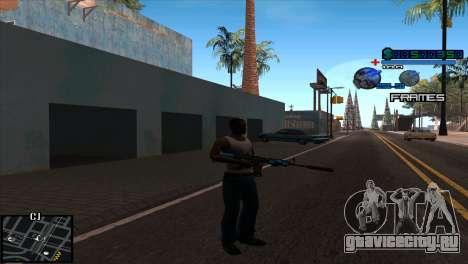 C-Hud Niko для GTA San Andreas