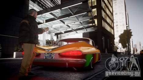 Chevrolet Impala для GTA 4 вид слева
