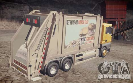 MAN TGS 18.320 Trash Truck для GTA San Andreas