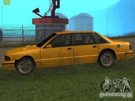 Premier 2012 для GTA San Andreas вид сзади слева