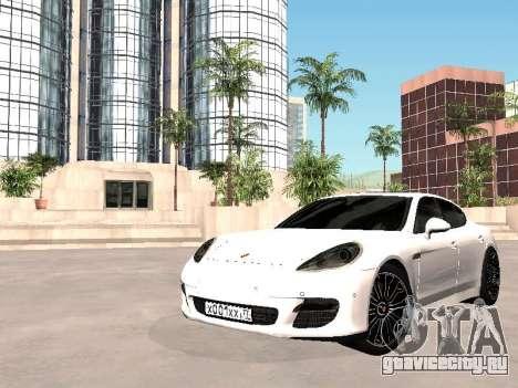 Porsche Panamera 2011 для GTA San Andreas